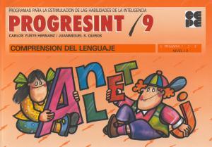 Progresint 9. Comprensión del lenguaje
