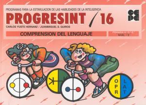 Progresint 16. Comprensión del lenguaje