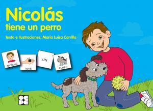Pictogramas : Nicolás tiene un perro