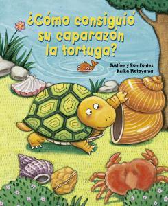 ¿Cómo consiguió su caparazón al tortuga?