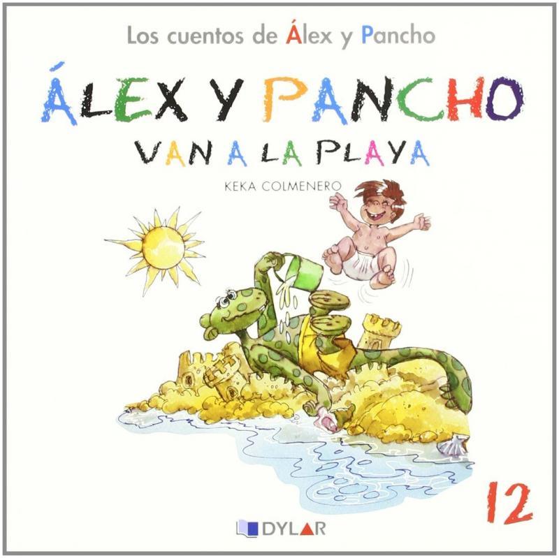 Alex y Pancho van a la playa. Cuento 12