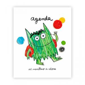 Agenda Monstruo de los colores va al cole