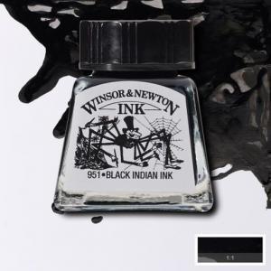 Tinta china Winsor and Newton negro