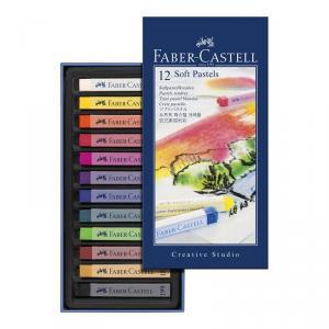 Pastel blando caja 12 colores Studio Quality
