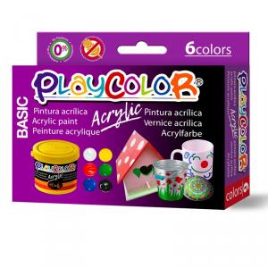 Playcolor acrylic basic 40ml 6 colores