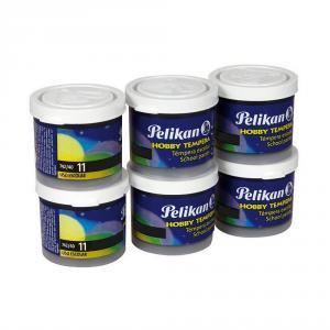 Témpera Hobby Pelikan 40ml caja 6 unidades