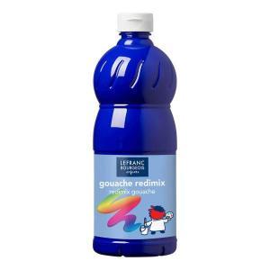 Témpera líquida azul ultramar 500 ml.