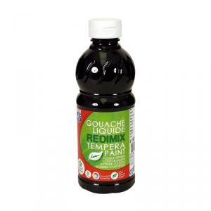 Témpera líquida negro (500 ml)