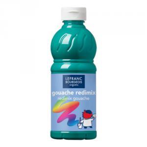Témpera líquida verde esmeralda 500 ml.
