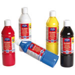 Pintura acrílica glossy Rojo primario 500ml