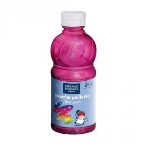 Témpera líquida purpurina rosa