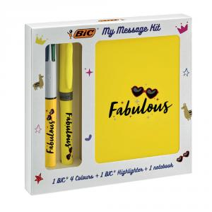 Set my message Bic Fabulous