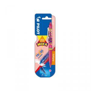 Bolígrafo Frixion Clicker Mika rosa blíster 1 unidad
