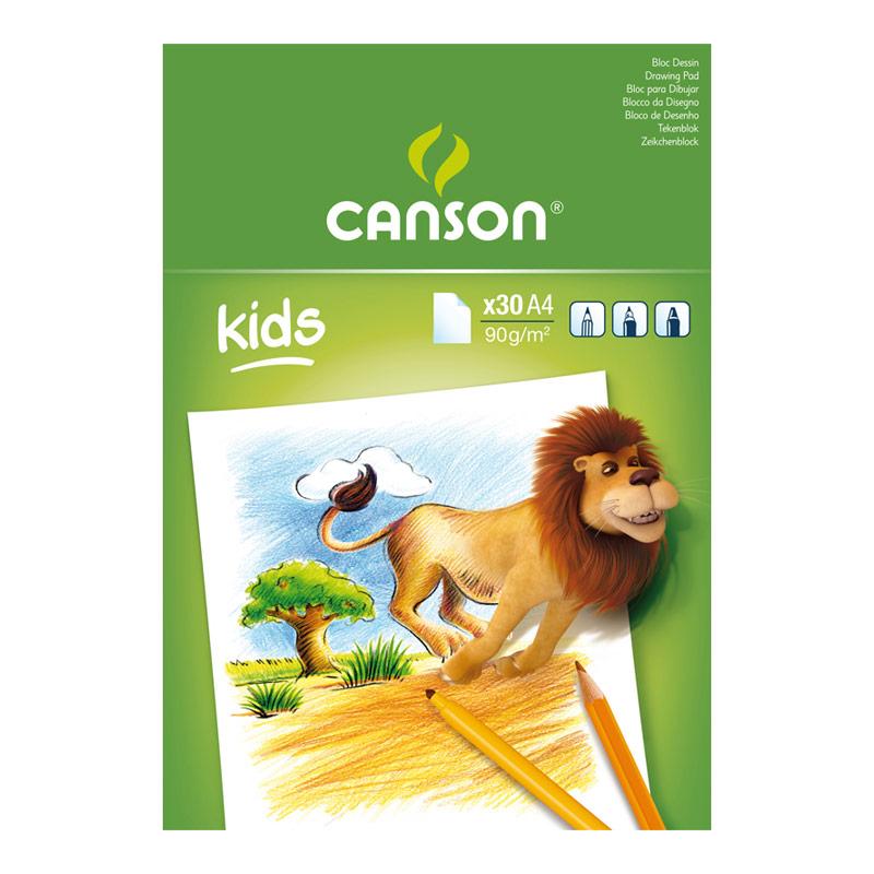 Bloc dibujo Mesa Little Kids A4