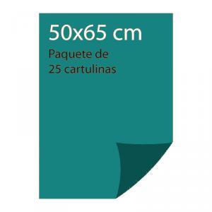 Cartulina color Verde menta Pliego Iris (25 uds)