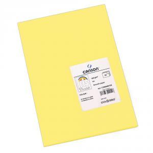 Cartulina A4 amarillo limón