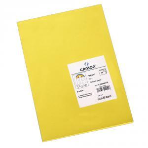 Cartulina A4 amarillo canario