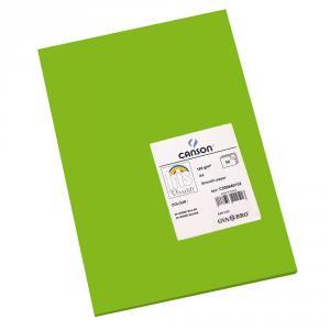Cartulina A4 verde billar