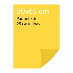 Cartulina color Amarillo limón Pliego Iris (25 uds)