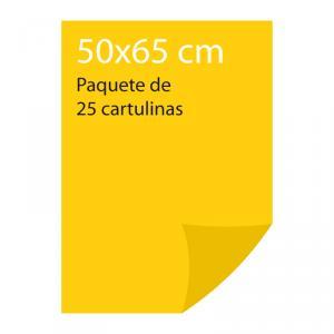 Cartulina color Amarillo canario Pliego Iris (25 uds)