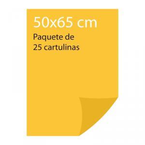Cartulina color Amarillo gualda Pliego Iris (25 uds)