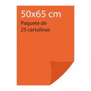 Cartulina color Naranja Pliego Iris (25 uds)