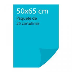 Cartulina color Azul cielo Pliego Iris (25 uds)