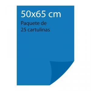 Cartulina color Azul mar Pliego Iris (25 uds)