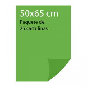 Cartulina color Verde billar Pliego Iris (25 uds)