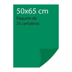 Cartulina color Verde abeto Pliego Iris (25 uds)