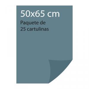Cartulina color Gris plomo Pliego Iris (25 uds)