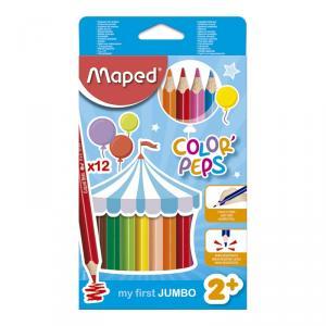 Lápiz Jumbo Color Peps 12 colores