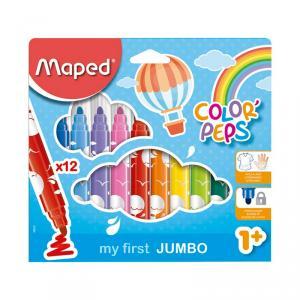 Rotulador Jumbo Color Peps 12 colores