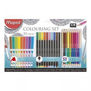 Set de colores Graph Peps 33 piezas y afilalápiz