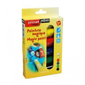 Pintura gouache Prima Magic kit iniciación 6 colores 20ml