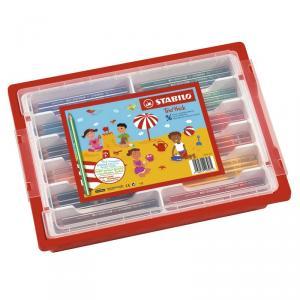 Lápiz de color Stabilo Trio schoolpack caja 96 unidades