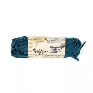 Rafia Folia azul real 50g.