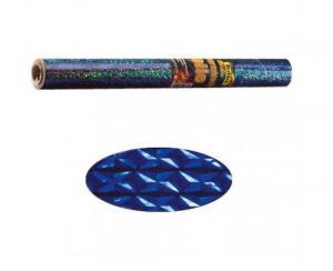 Papel holográfico azul