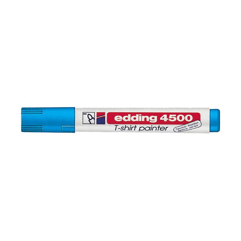 Rotulador para tela azul claro