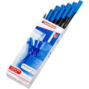 Rotulador Edding 1200 azul claro caja de 10 unidades