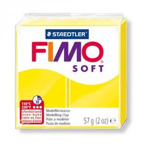Pasta Fimo Soft Amarillo Limón 56gr