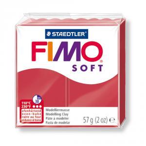 Pasta Fimo Soft Carmín 56gr