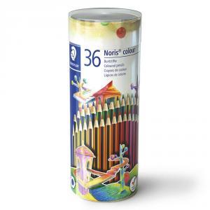 Lápiz color tubo metal 36uds