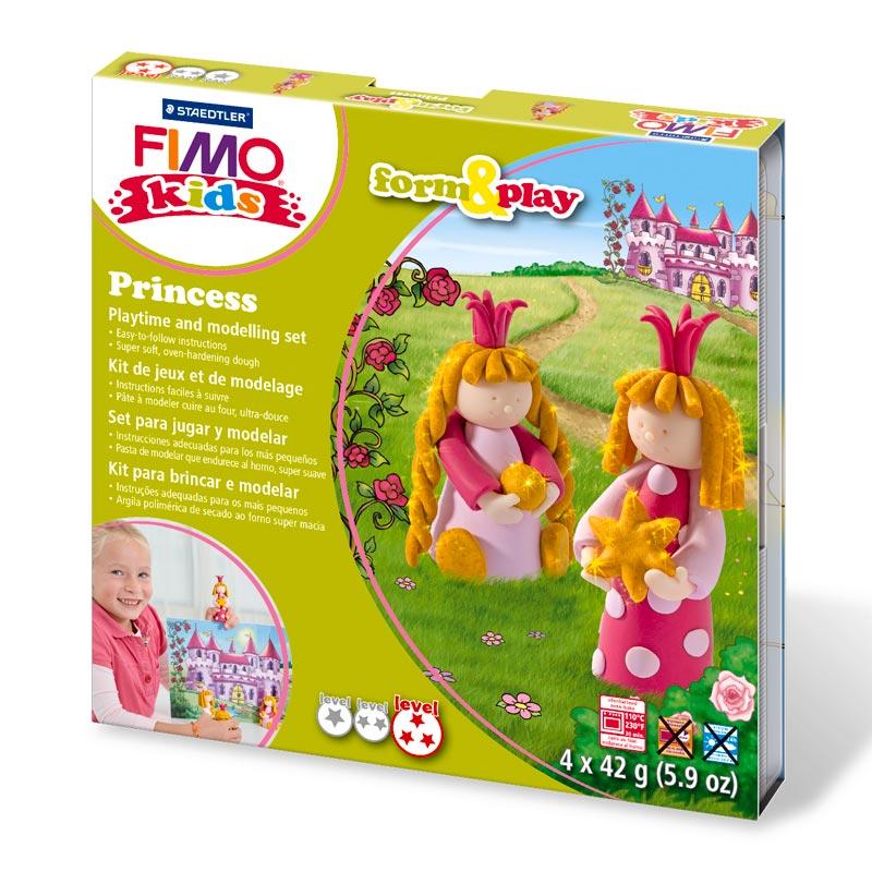 Kit pasta Fimo Kids Princesas