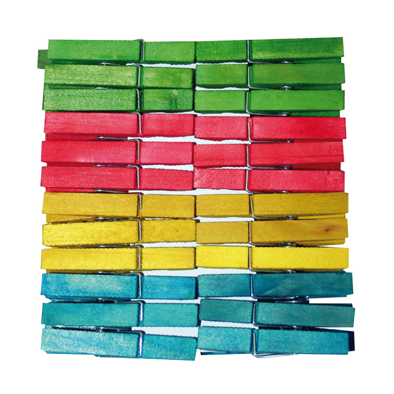 Pinzas madera colores Ibertabac