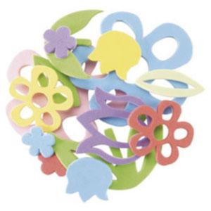 Flores de foam adhesivas