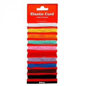 Cordón elástico 10 colores