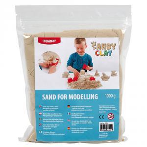 Arena modelar Sandy clay 1kg color natural