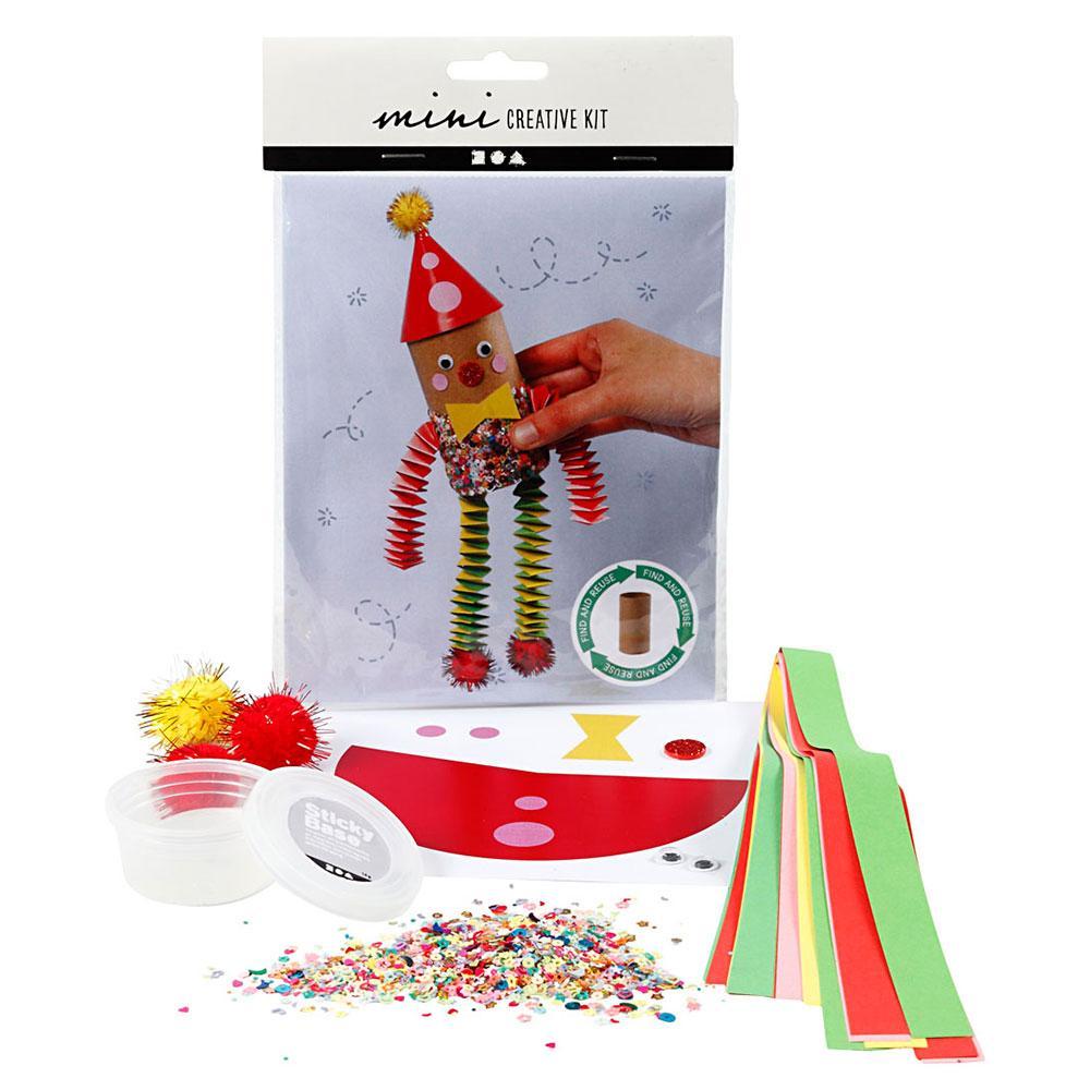 Mini kit creativo rollo de papel higiénico
