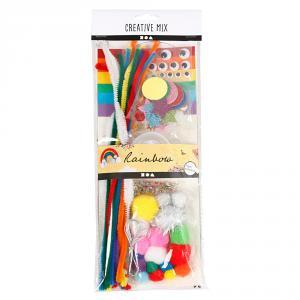 Set surtido manualidades arco iris